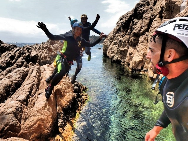 Coasteering on the Costa Brava of Spain with Aventura Experience