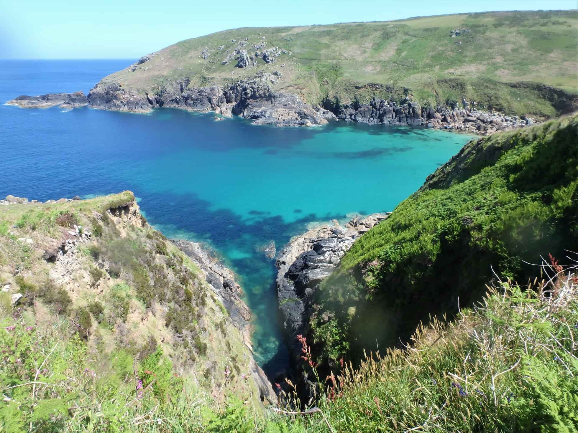 Porthmeor Cove, near Zennor and St. Ives, Cornwall