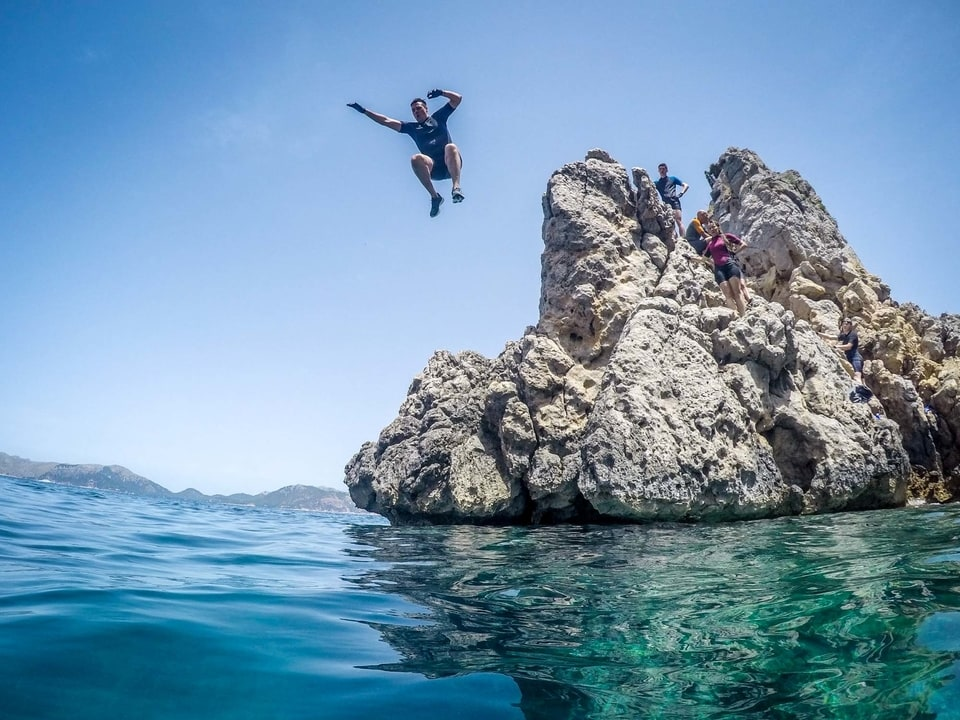 Coasteering in Mallorca with Active Alcudia