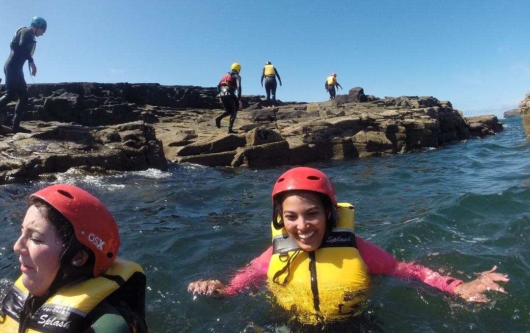 Coasteering in Ireland with Nevsail Watersports