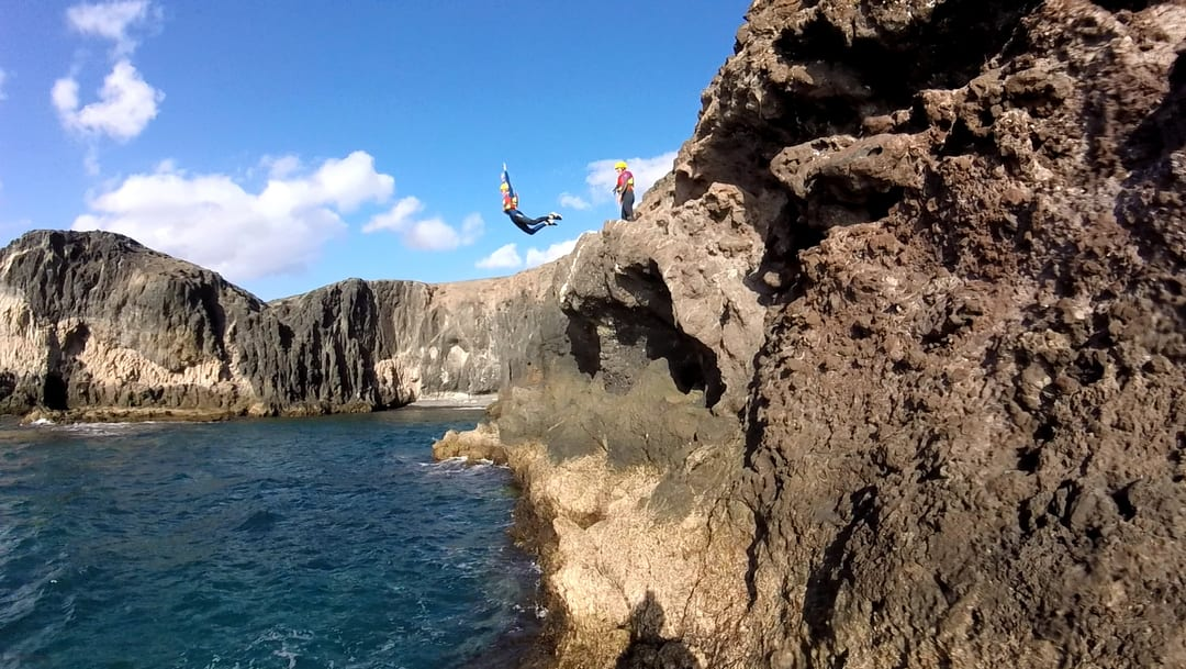 Coasteering in the Canary Islands with Kayak Lanzarote