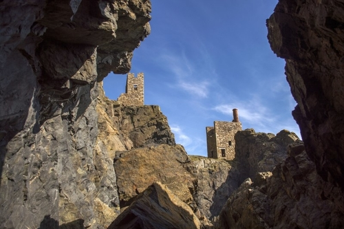 The Crowns Mine at Botallack. Explore the underground world of cornwall with incredible, fun-filled days out in Cornwall, near N