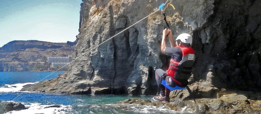 Coasteering in Gran Canaria with Mojo Picon Aventura