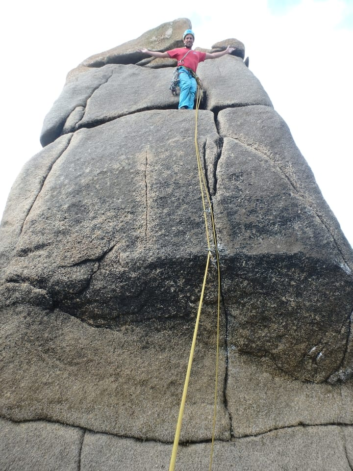 Skip to main content Primary tabsUPLOADLIBRARYMY FILES Name * New rock climbing route on the Isles of Scilly, Tom Butt's Crack,