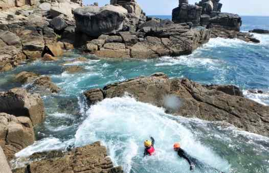 Coasteering on the Isles of Scilly